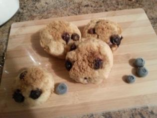 Mini Blueberry Muffins